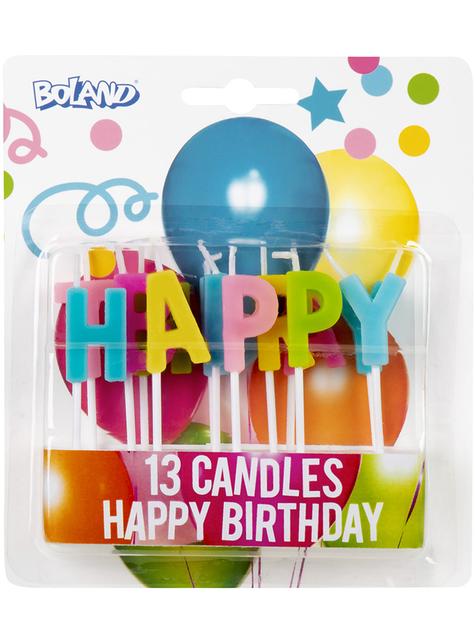 13 svíček