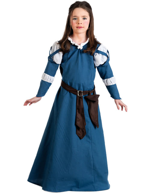 Girls Medieval Era Costume