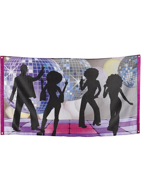 Bandeira música disco - Disco Party - barato