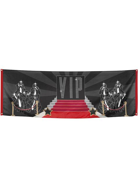 Bandera para fiesta VIP - Elegant Collection - para niños y adultos