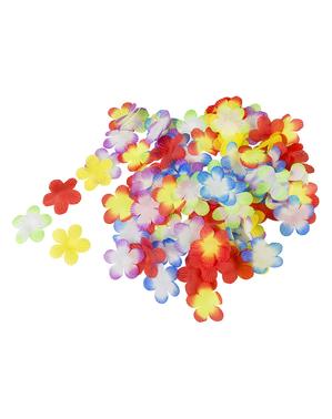 פרחי צבעים במגוון עצום של קישוט הוואי