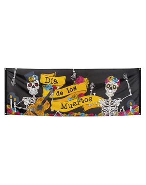 Bandera de el Día de los Muertos