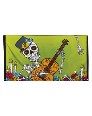 Catrina banner Day of the Dead