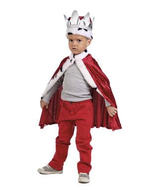 Kit fato de rei para menino