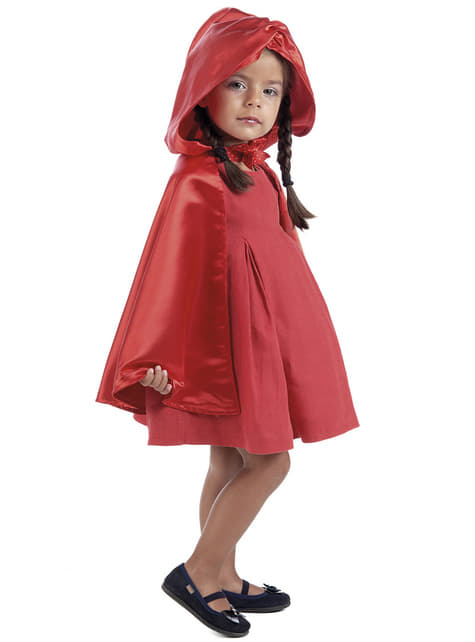 Capa roja para niña