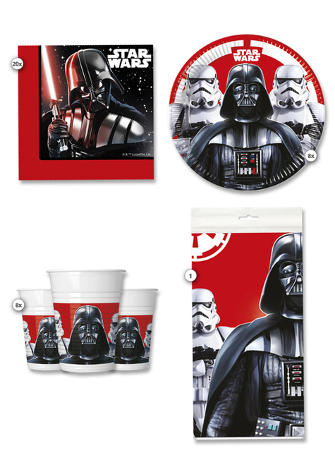 Kit anniversaire Star Wars 8 personnes