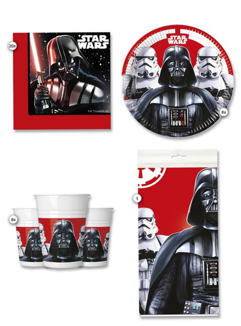 Kit de fiesta Star Wars 8 personas