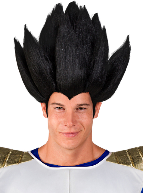 Peruca de Vegeta - Dragon Ball