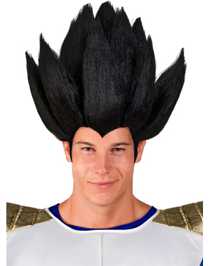 Vegeta pruik - Dragon Ball