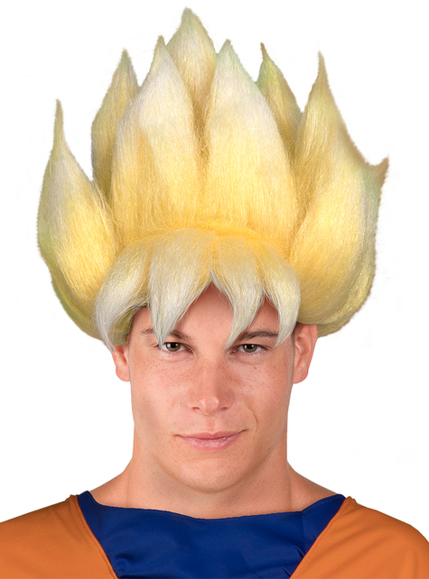 Peluca de Super Saiyan - Dragon Ball - original