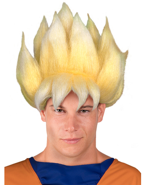 Peruca de Super Saiyan - Dragon Ball