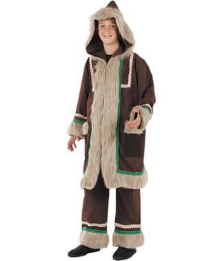 Disfraz de esquimal aventurero para niño
