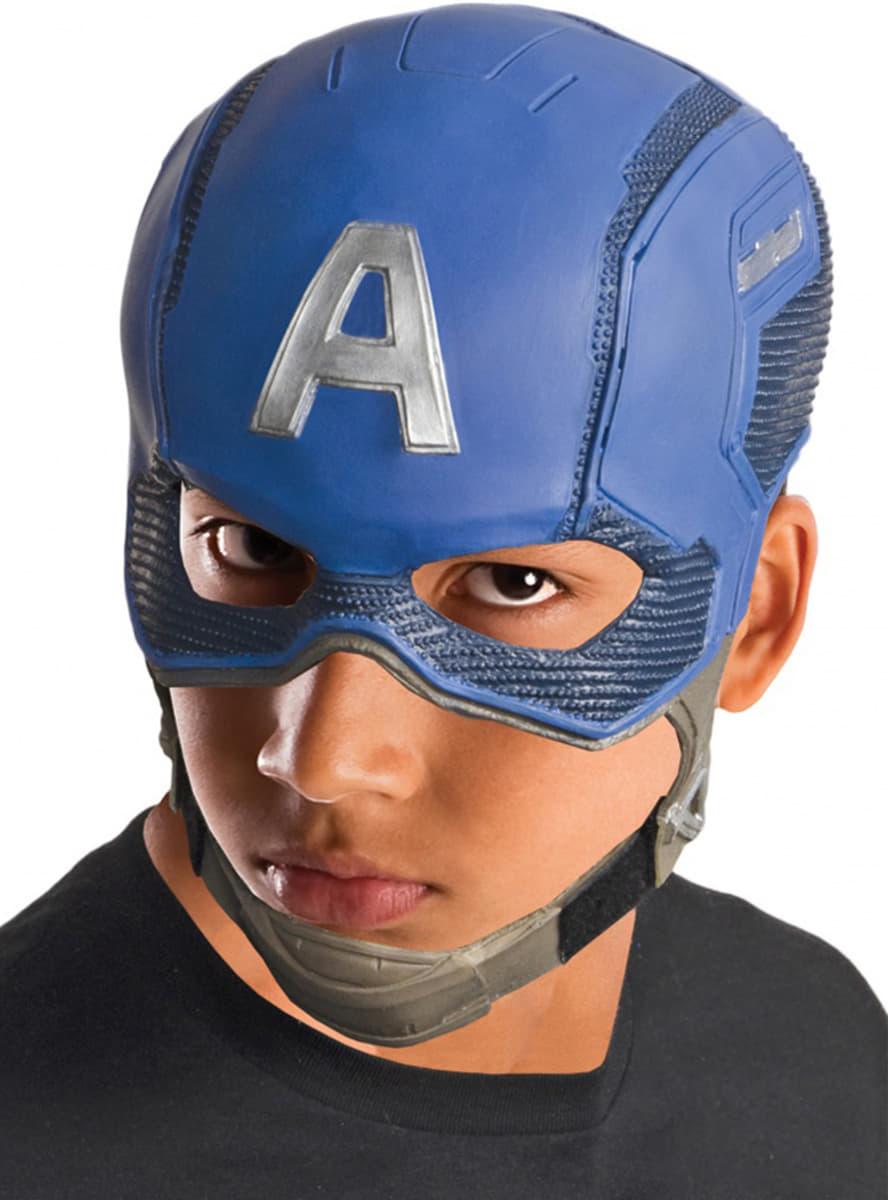 Masque captain america gar on pour d guisement funidelia - Masque de captain america ...