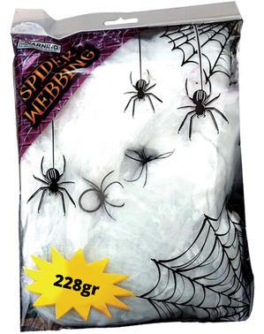 228 gram bag med spindelvev