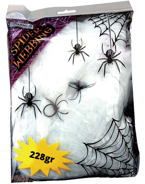 Zakje spinnenweb 228 gram