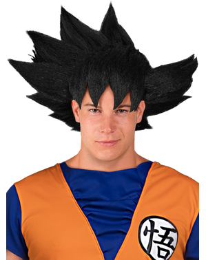 Peruca de Goku - Dragon Ball