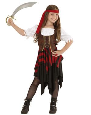 Costum fată pirat pentru fetiță