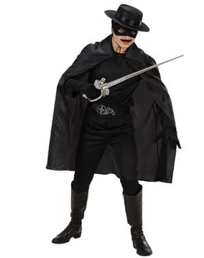 Slušivý černý plášť pro děti