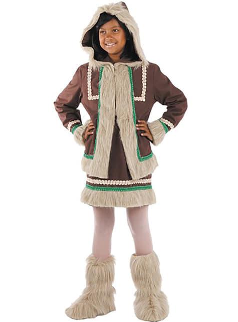 Kostium eskimosa dla dziewczynki