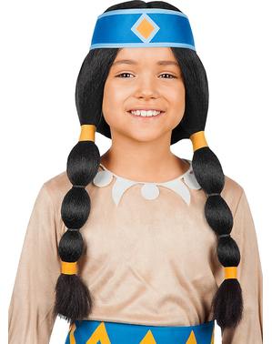 Yakari regenboog hoofdband voor meisjes
