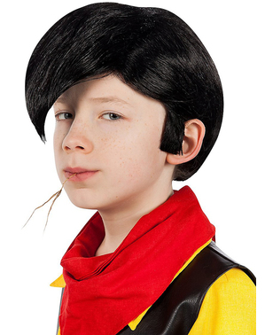 Lucky Luke wig for boys