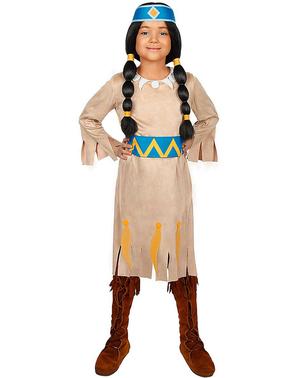 Kostým pro dívky Yakari duhový