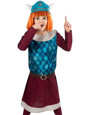 Kostým Viking Vicky pre deti