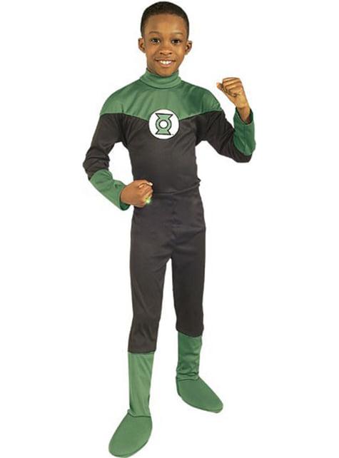 Fato de Lanterna Verde DC Comics para menino