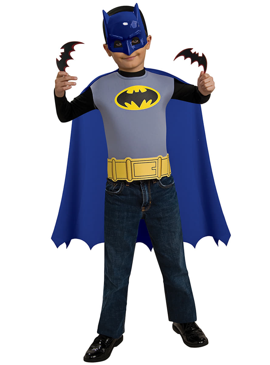 kit costume batman the brave and the bold enfant funidelia. Black Bedroom Furniture Sets. Home Design Ideas