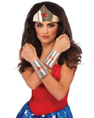 Kit acessórios de Wonder Woman DC Comics para mulher