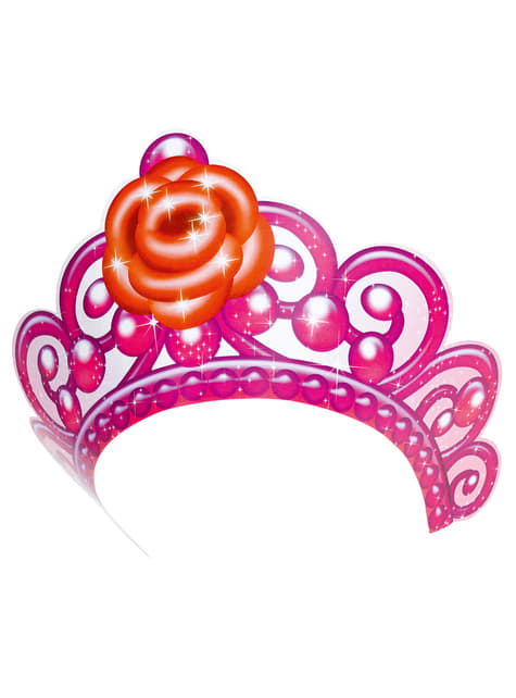 Set de 6 tiaras de Barbie Pink Shoes