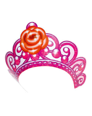 Set of 6 Barbie Pink Shoes Tiaras