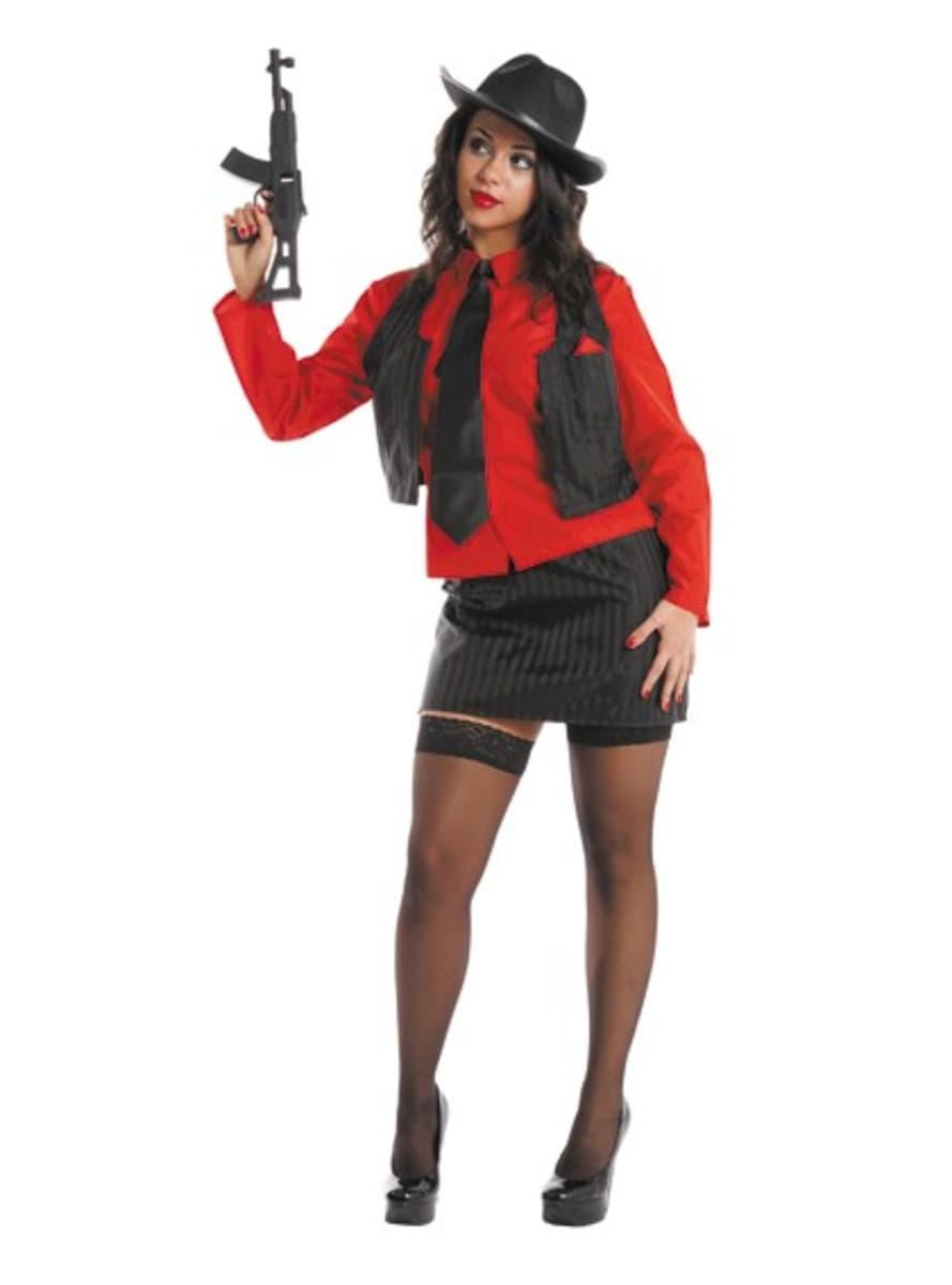 Costume De Gangster Femme Funidelia