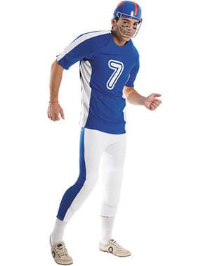 Amerikansk fodbold spiller kostume