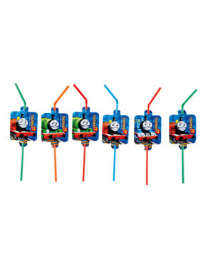 8 Thomas and Friends Straws