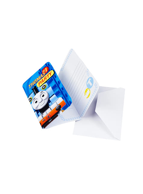 6 Thomas and Friends Invitations