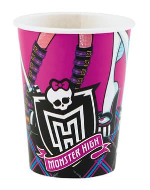 8 gobelets Monster High