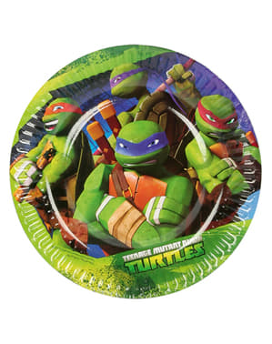 8 toetjesborden van The Ninja Turtles