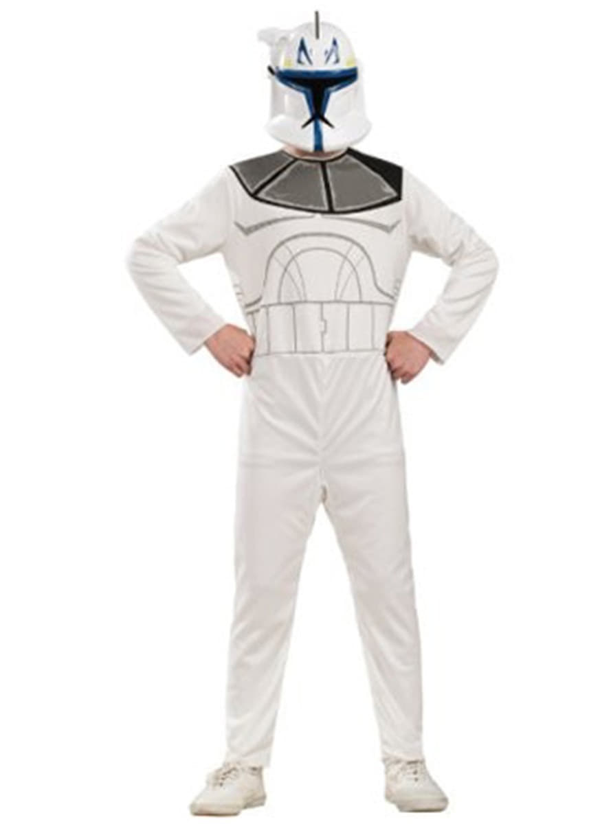 Captain Rex Clone Trooper Action Suit Child Costume. Detalle Zoom  sc 1 st  Funidelia & Captain Rex Clone Trooper Action Suit Child Costume. Fast delivery ...