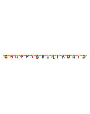 Guirnalda de Feliz Cumpleaños de Mike el Caballero
