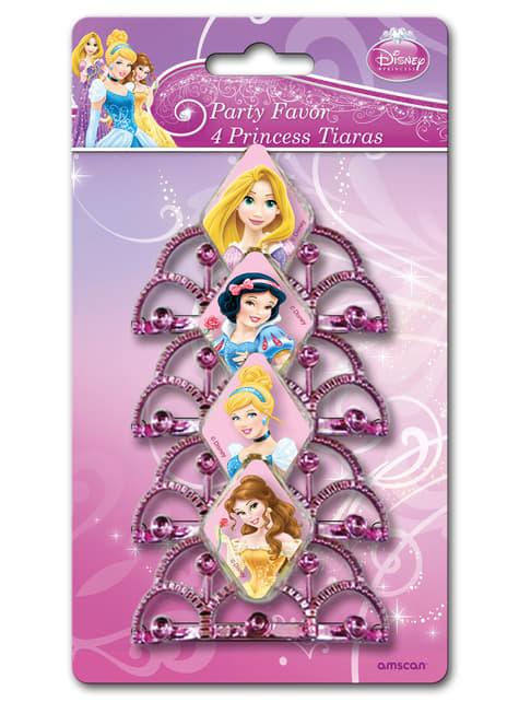 Conjunto de tiaras das Princesas Disney