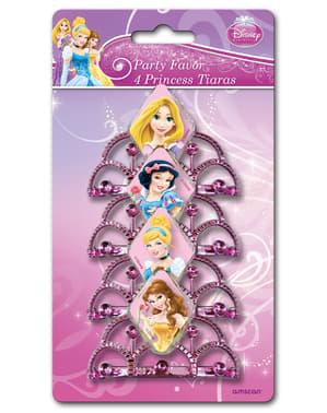 4 Disney Prinsesser tiaraer