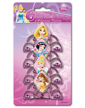 Set tiaras van de Disney Prinsessen