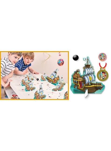 Jogo de pinos Piratas Jake e os Piratas da Terra do Nunca