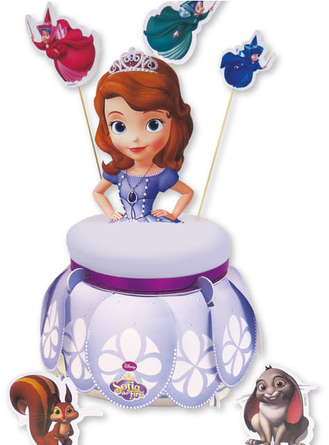 Sofia the First Cake Stand and Cake Decoration Kit