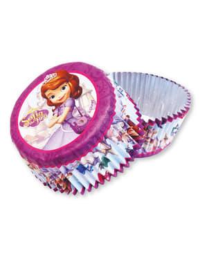 24 cupcake vormpjes van Prinses Sofia