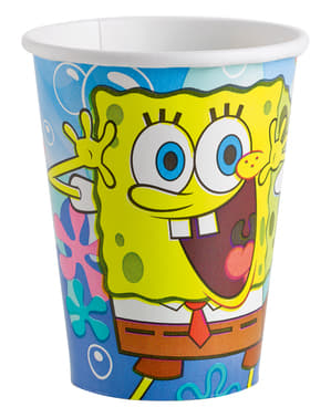 8 SpongeBob Squarepants Cups