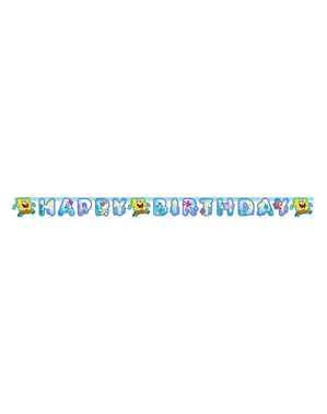Cartaz de Feliz Aniversário de SpongeBob