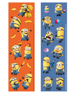 6 Minions Stickers