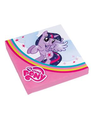 20 My Little Pony servetter (33x33 cm)